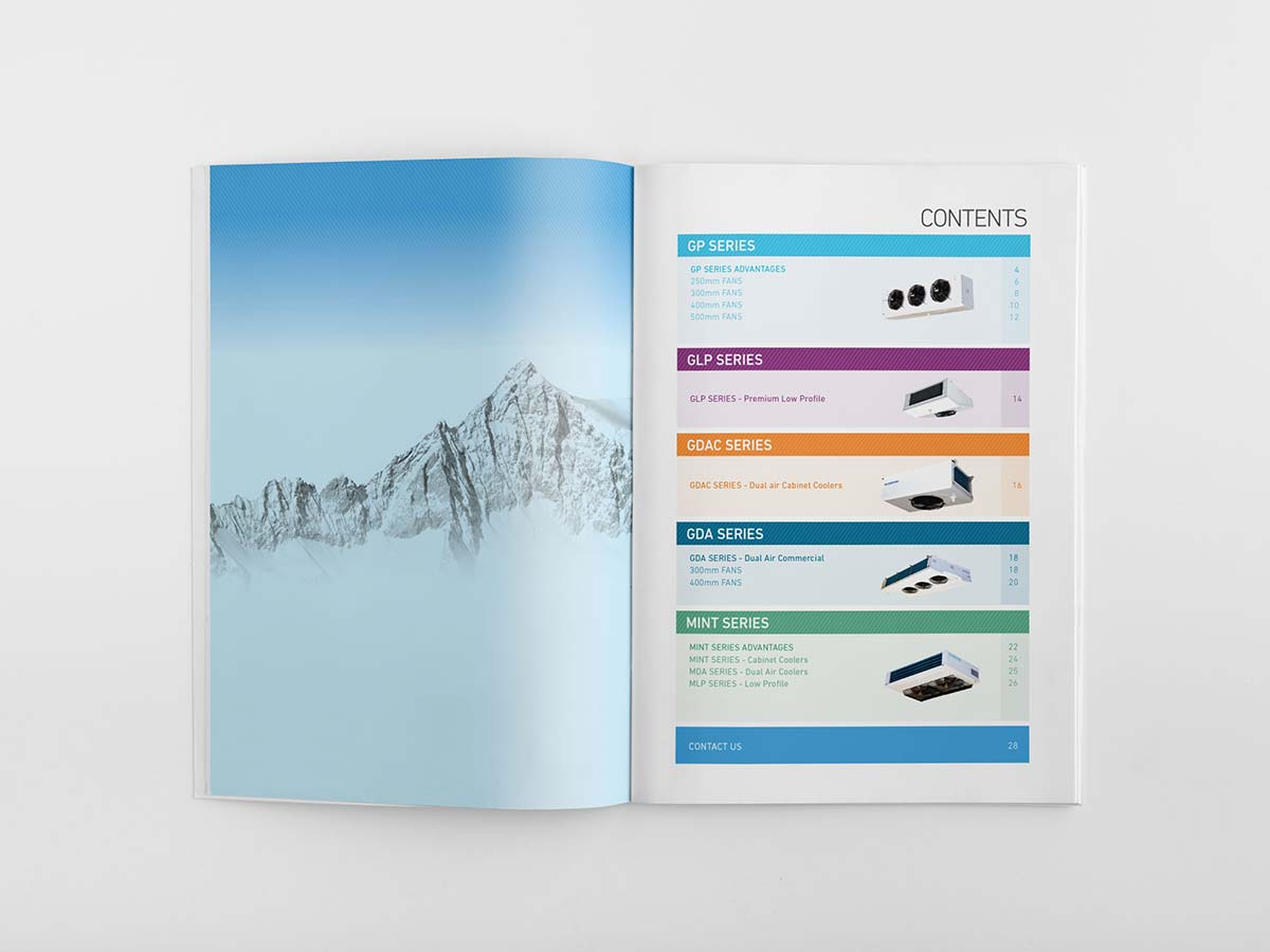 Trade Catalogue Brochure Design Gold Coast
