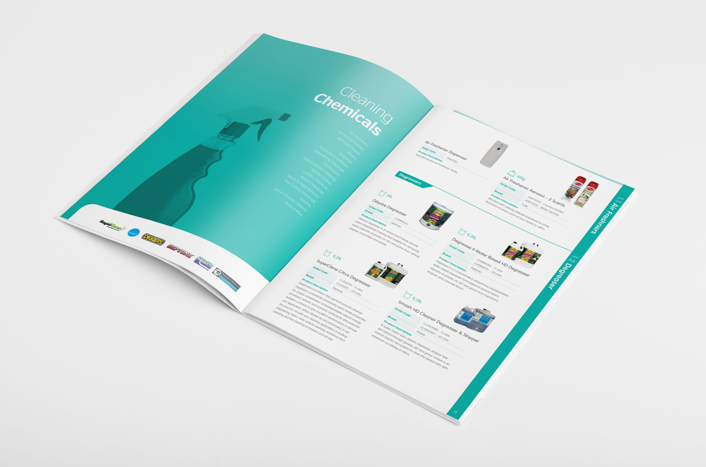Brisbane trade catalogue design for brisbane based for Brochure product design
